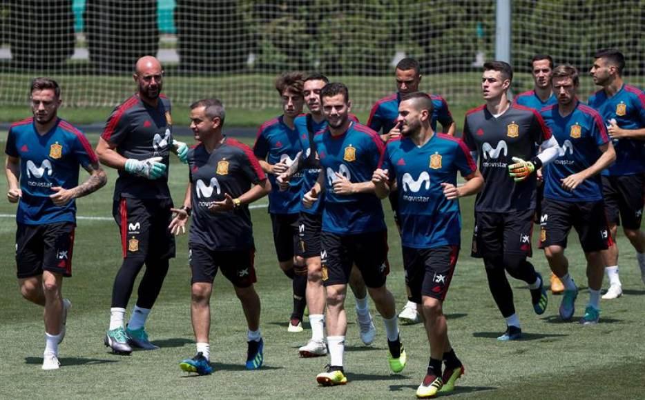 La Selección aún con el susto en el cuerpo regresó a los entrenamientos con Pepe Reina