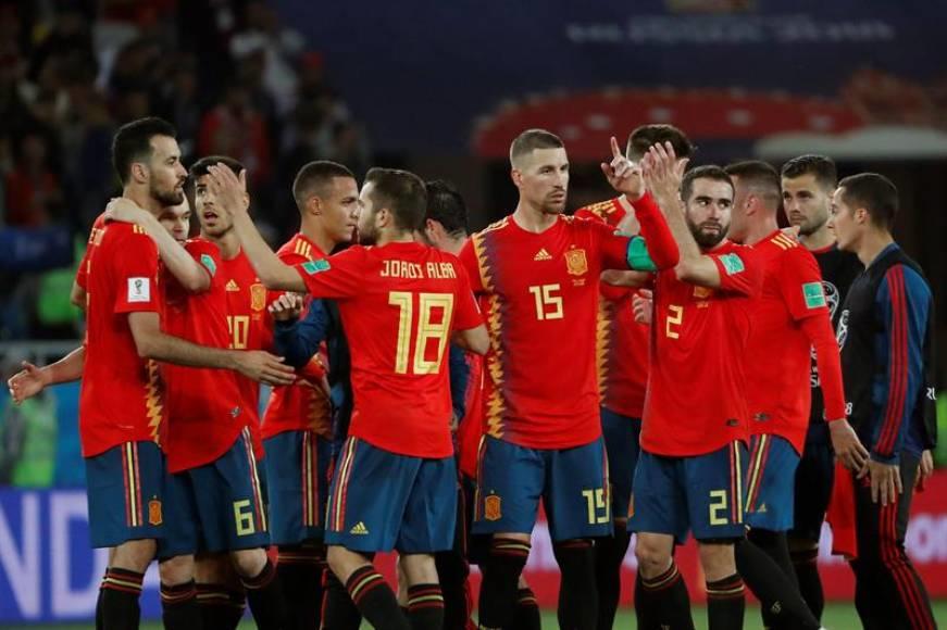 España sobrevive ante Marruecos en Rusia 2018 (2-2)