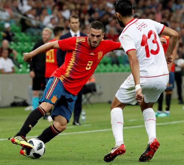 España cierra la preparación del Mundial Rusia 2018
