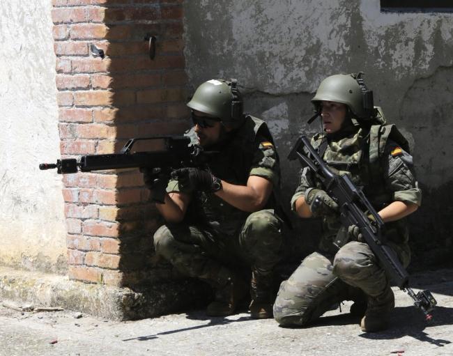 El Ejército realiza con éxito 4 jornadas de ejercicios militares en Lérida (Cataluña)