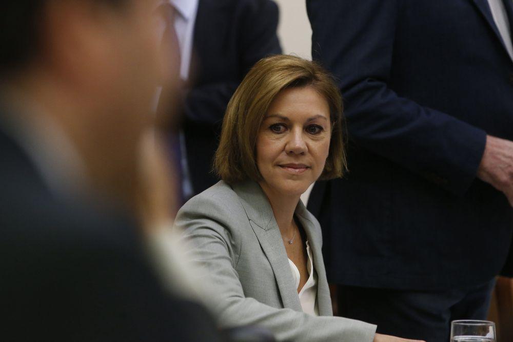 """Audio entre marido de Cospedal y Villarejo: hay quien está """"largando cosas"""" del Gürtel"""