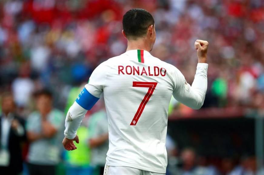 (Mundial 2018) Portugal gana al descanso gracias a un gol de Ronaldo (1-O)