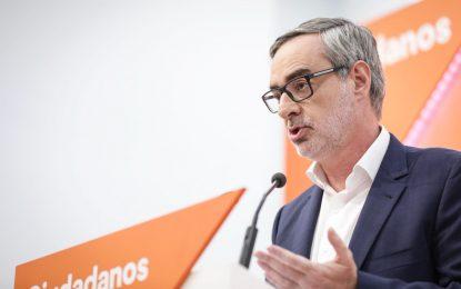 """""""Ciudadanos Cs vigilará que las hipotecas de Sánchez con los separatistas"""""""