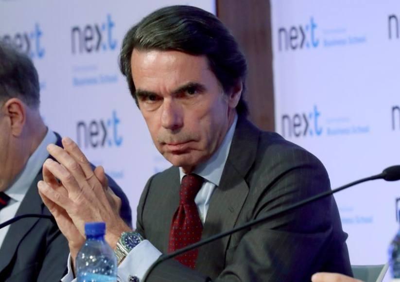 Aznar denuncia la mala herencia de Rajoy quien ha destruido a la Derecha española
