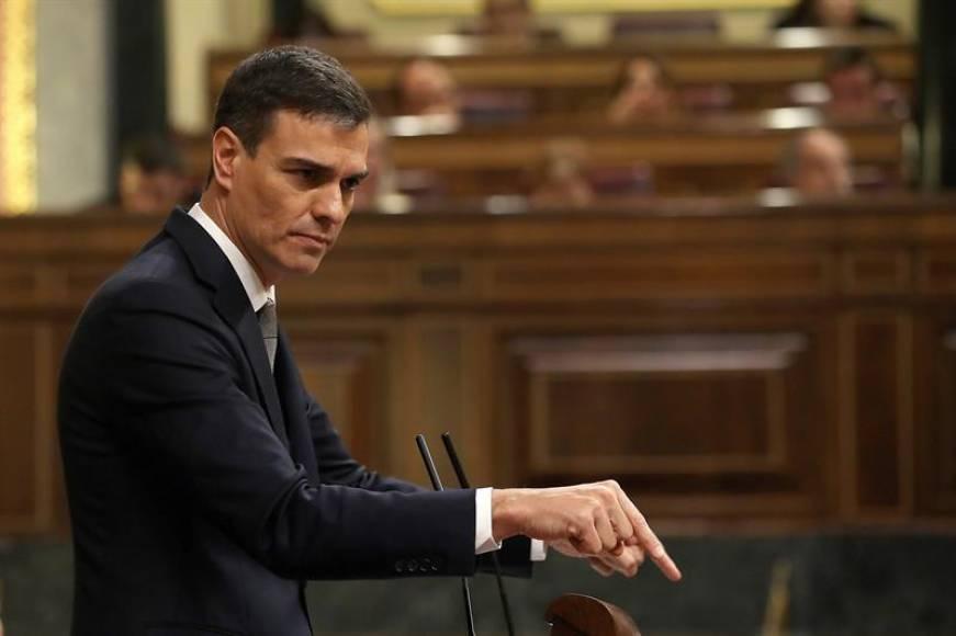 """Sánchez al Congreso: """"Gracias, de corazón"""""""