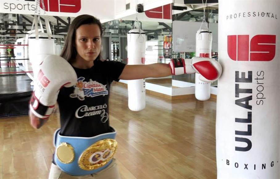 """La boxeadora española Joana Pastrana: Quiero """"ser campeona del mundo en 2 organismos diferentes"""""""