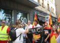 """Los Mozos españoles (UMC) exigen un """"respeto"""" al Rey y agradecen a los Hermanos Roca"""