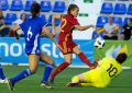 La selección española femenina de fútbol, un pie y medio en el Mundial de Francia