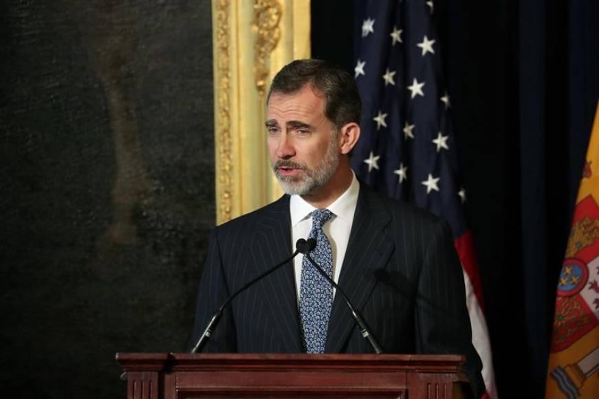 El Rey reivindica la herencia española en Nueva Orleans (Estado Unidos)
