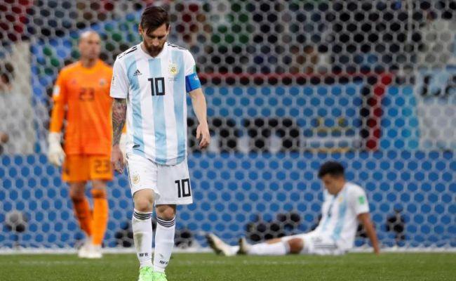 Argentina y Messi humillados, Willy Caballero aprieta la soga a Argentina (0-3)