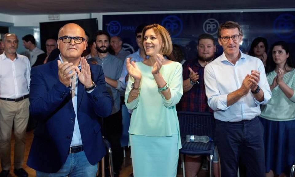 Cospedal: Ilegalizaremos a los partidos independentistas cuando volvamos al poder