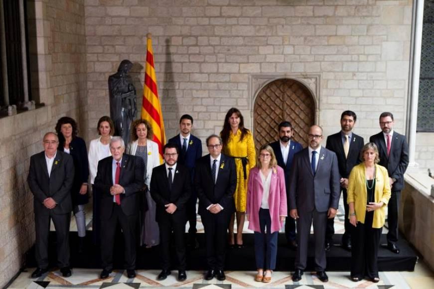 """Torra pide al Gobierno del PSOE a """"tomar riesgos"""" y luchar por la """"República Catalana"""""""