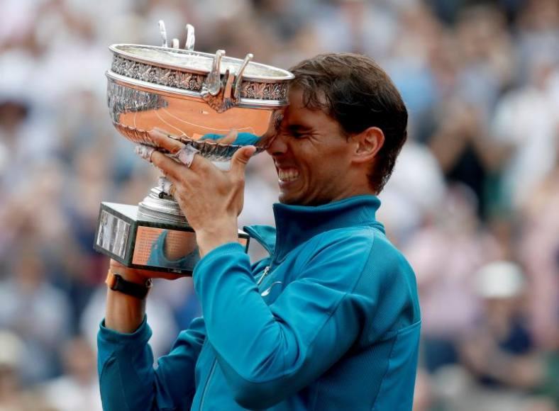 El español Rafael Nadal triunfó de nuevo en Roland Garros