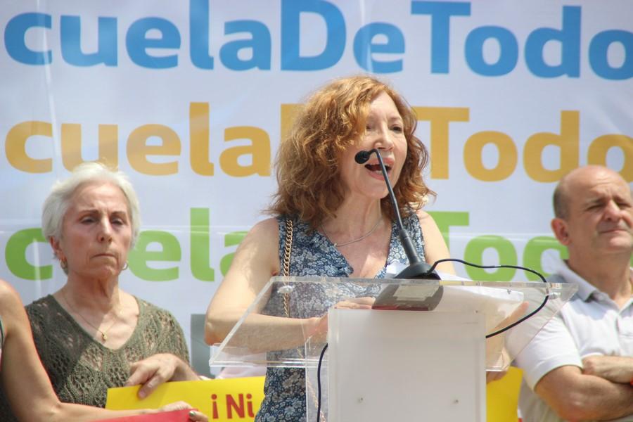"""Agenjo denuncia en dialecto catalán la """"discriminación"""" de alumnos españoles en Cataluña"""
