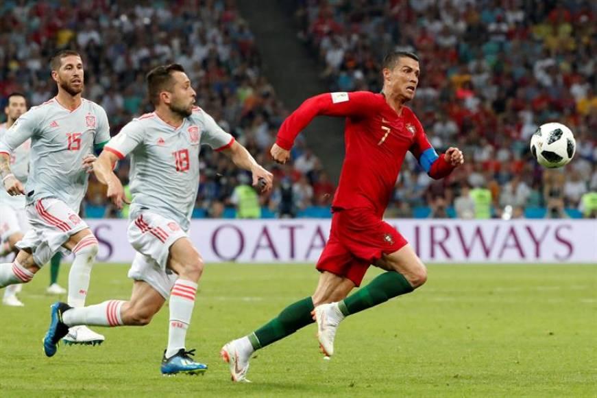 (Mundial 2018) El astro Cristiano Ronaldo frustra a España en su debut en el Rusia 2018 (3-3)