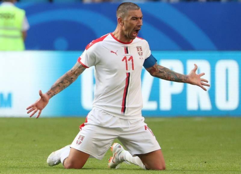 """(Mundial 2018) Kolarov derriba la fortaleza """"tica"""", Serbia-Costa Rica (0-1)"""