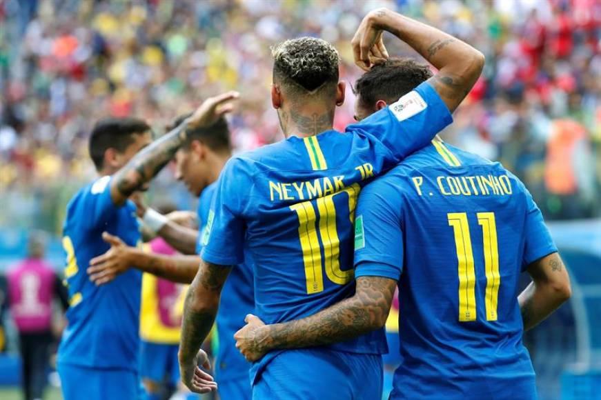 (Mundial 2018) Coutinho rescata a Brasil (2-0)