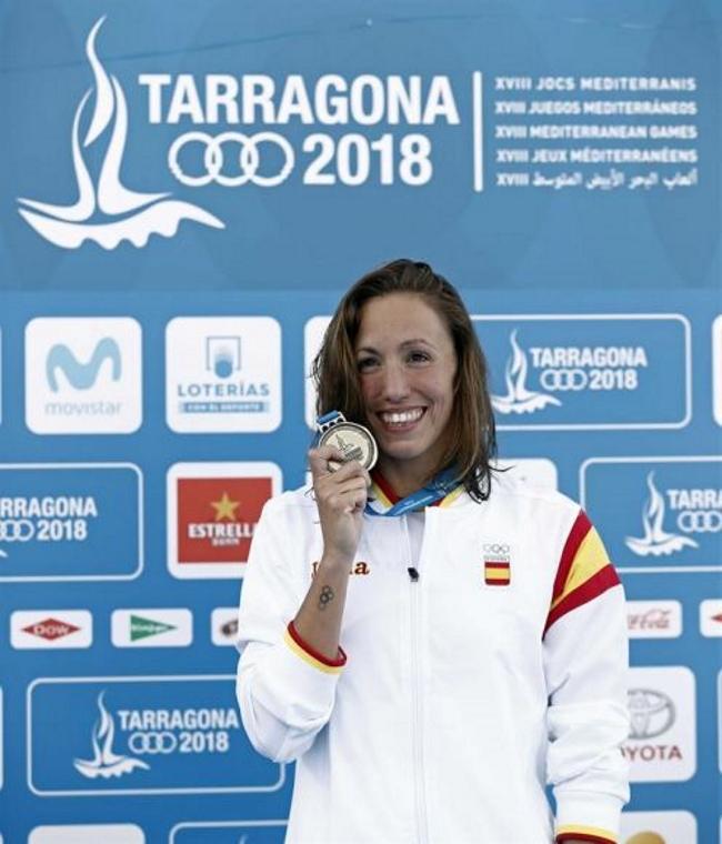 Jessica Vall, primer oro a España en los Juegos del Mediterráneo Tarragona 2018