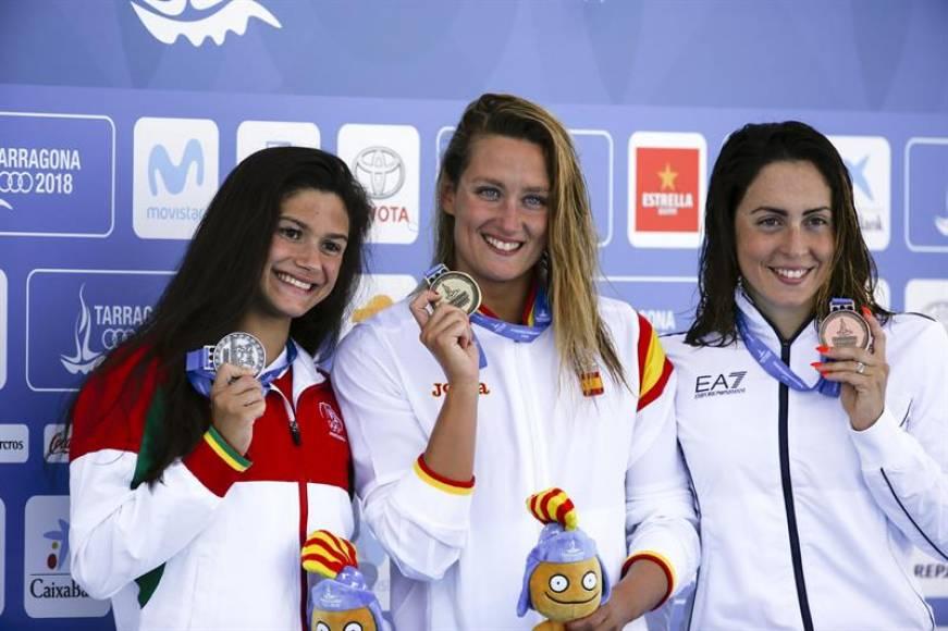 Las españolas Belmonte y Jessica Vall, protagonistas de la natación en los Juegos del mediterráneo