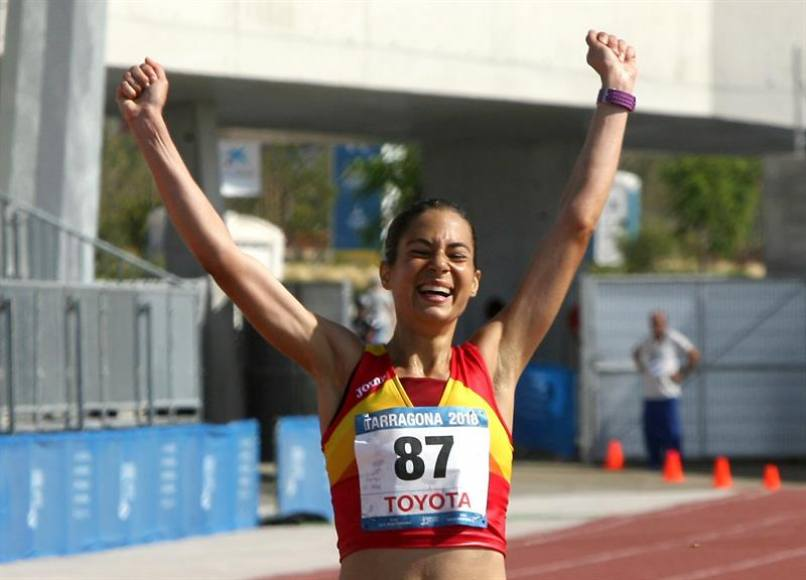 La atleta española Marta Galimany, plata en Tarragona 2018