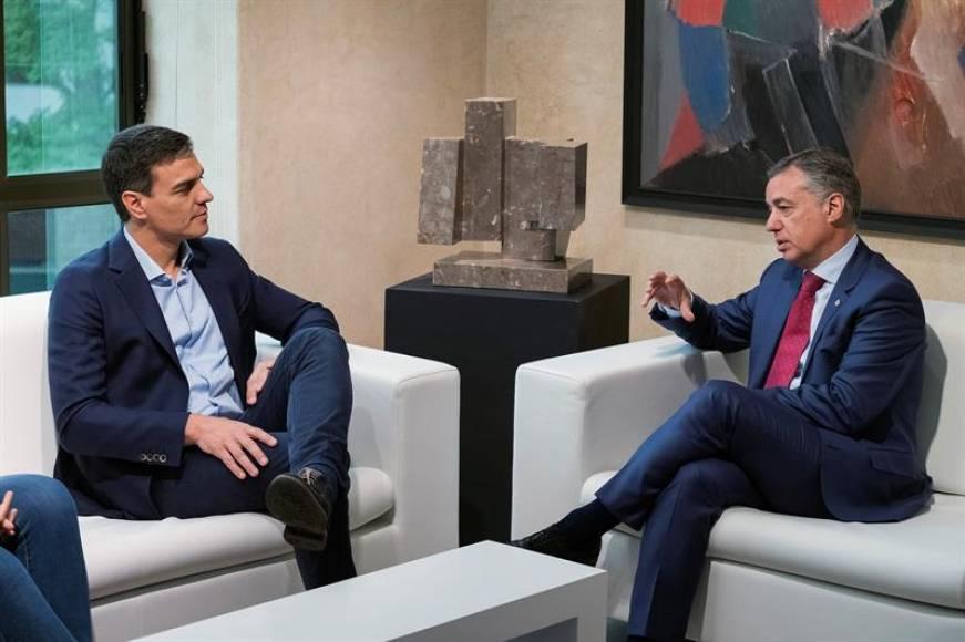 Sánchez inicia hoy la balcanización de España, dará a Urkullu: Seguridad Social, Prisiones e Inspección de Trabajo