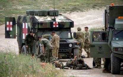 Heridos 7 paracaidistas del Ejército durante maniobra militar en Zaragoza