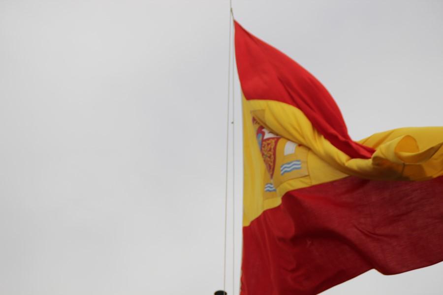 Fiesta de Bandera Española hoy en los puentes de TV3 y Meridiana con Ronda de Dalt