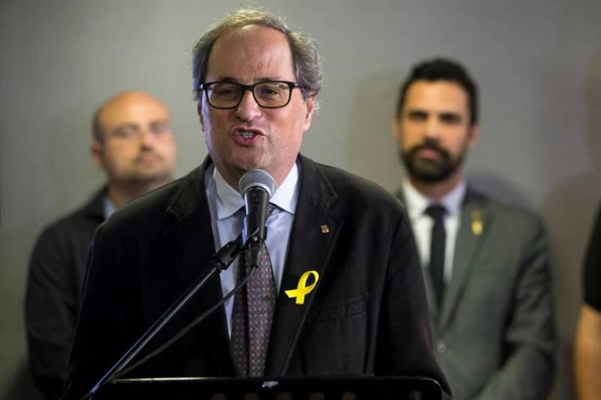 Torra se plantea abrir las puertas de las cárceles en Cataluña