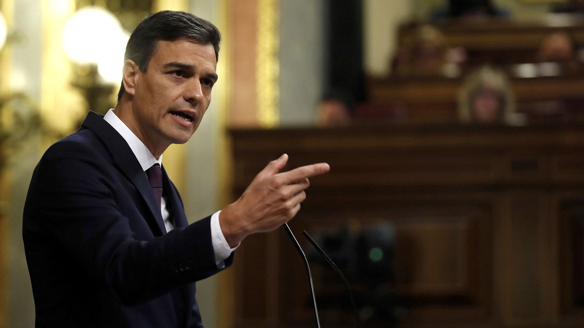 """Sánchez: """"Dialogar"""" con el independentismo """"no es ceder"""", no será """"ni fácil ni rápida"""""""