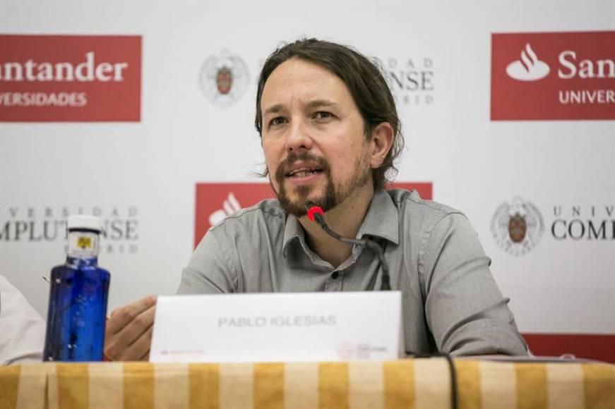 Imputado Pablo Iglesias desobedecerá a la jueza y planta al Tribunal, no irá hoy al juicio