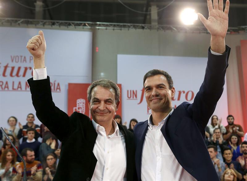 """Zapatero apoya a Soraya y rechaza a Pablo Casado que representa el """"retroceso"""""""