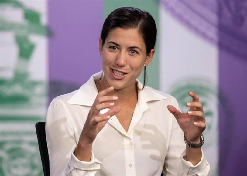 """La tenista española Garbiñe Muguruza: """"No creo que Wimbledon sea menos conocido"""""""