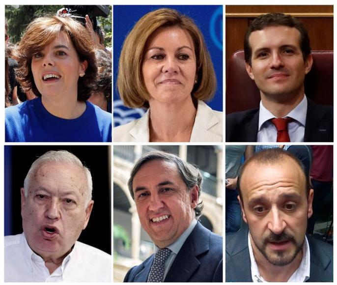 Hoy, elecciones para elegir el líder del PP