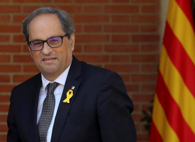 """Torra: No renunciamos """"a ninguna fórmula para la independencia"""" de Cataluña"""
