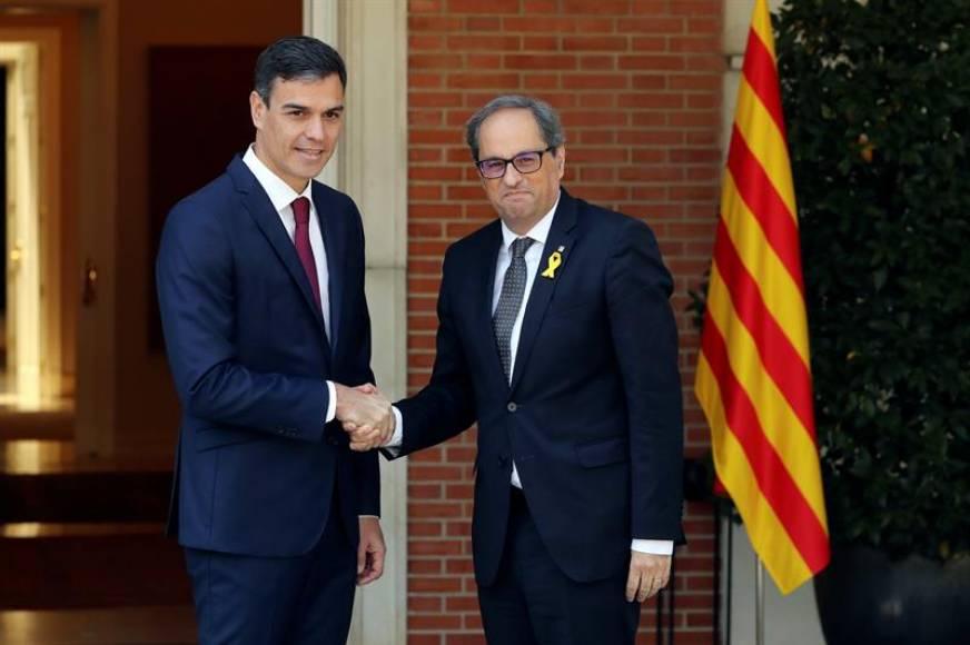 """Los CDR piden la """"dimisión"""" de  Torra y Gobierno de la Generalidad por los pactos con Sánchez"""