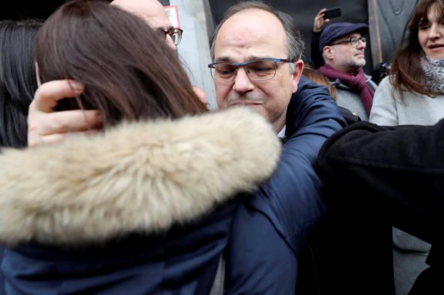 El preso fascista Jordi Turull, imputado por ceder patrimonio a su mujer antes del 1-O