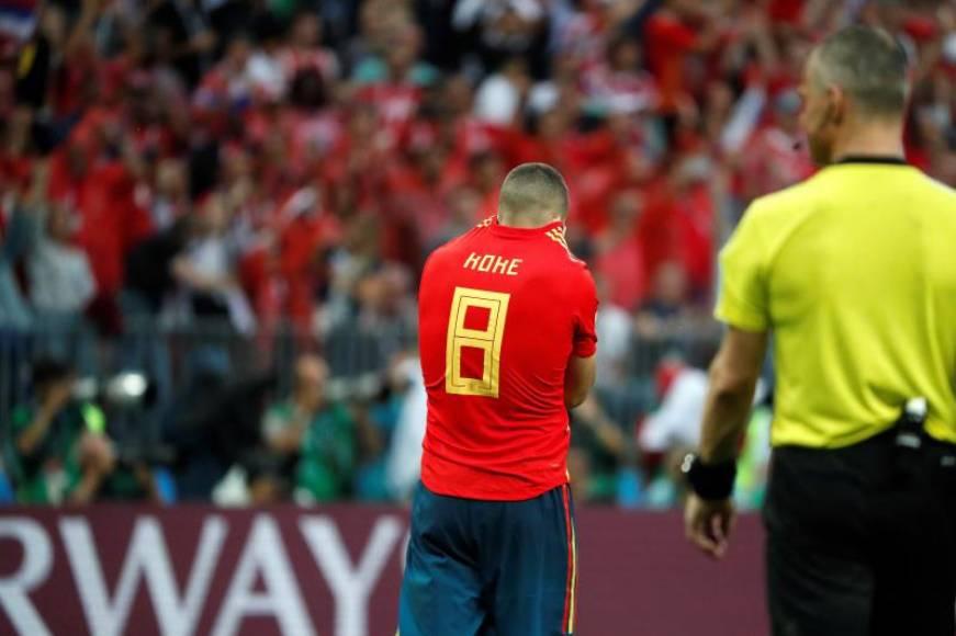 España sucumbe en los penaltis ante Rusia en el mundial 2018