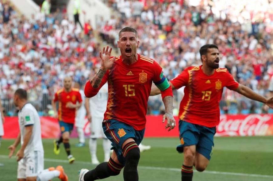 España-Rusia, primera prórroga de este Mundial Rusia 2018 (1-1)
