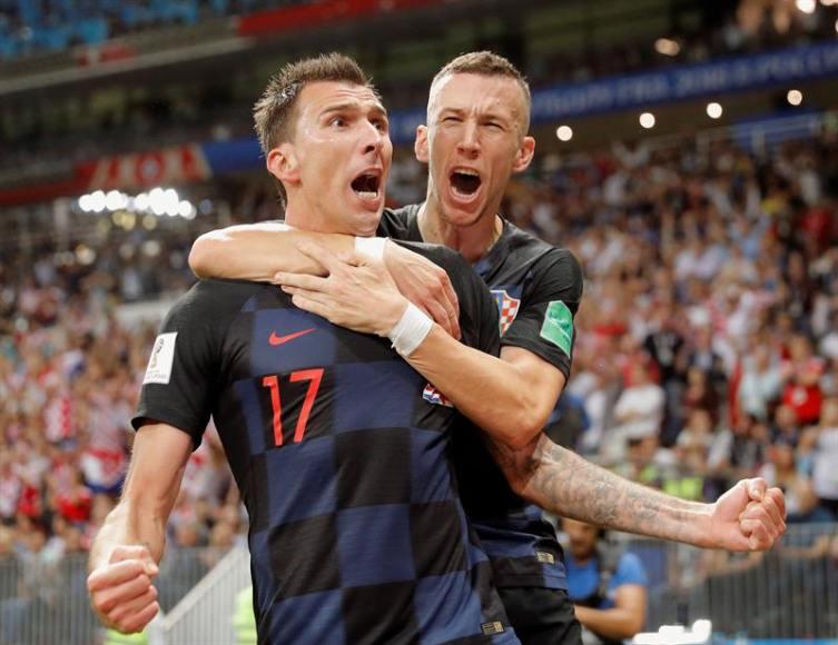 Croacia, finalista de Rusia 2018, superviviente del pulso hercúleo con la escuadra de Inglaterra