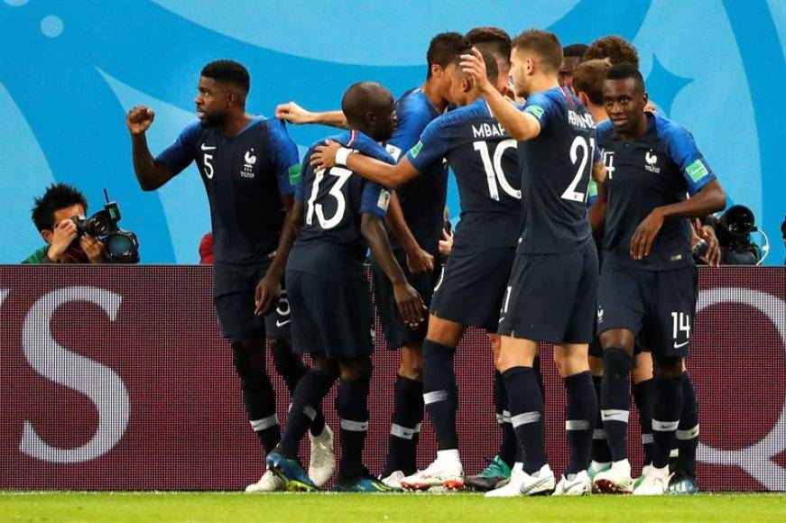 Francia, finalista del Mundial de Rusia 2018