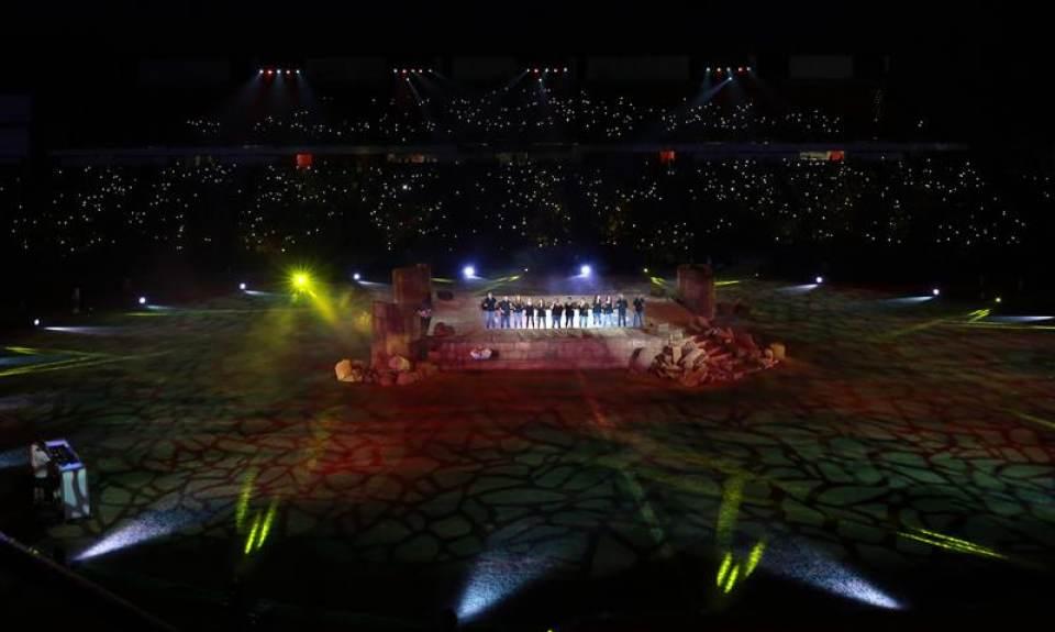 España cede la bandera de los Juegos del Mediterráneo Tarragona 2018 a Orán (Algeria)