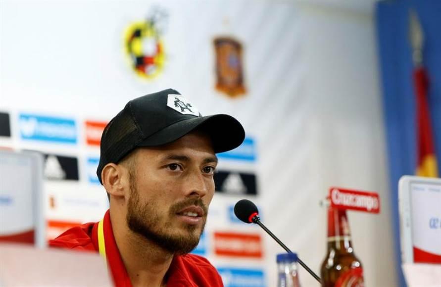 David Silva dice adiós a la selección española