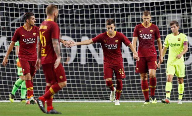 Roma aplasta al FC Barcelona en la Copa Internacional de Campeones (2-4)