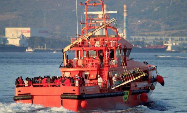 Llegan al puerto de Málaga 151 inmigrantes