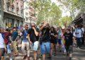 Se disuelve la marcha de los CDR ante la resistencia española con su Rey en Barcelona
