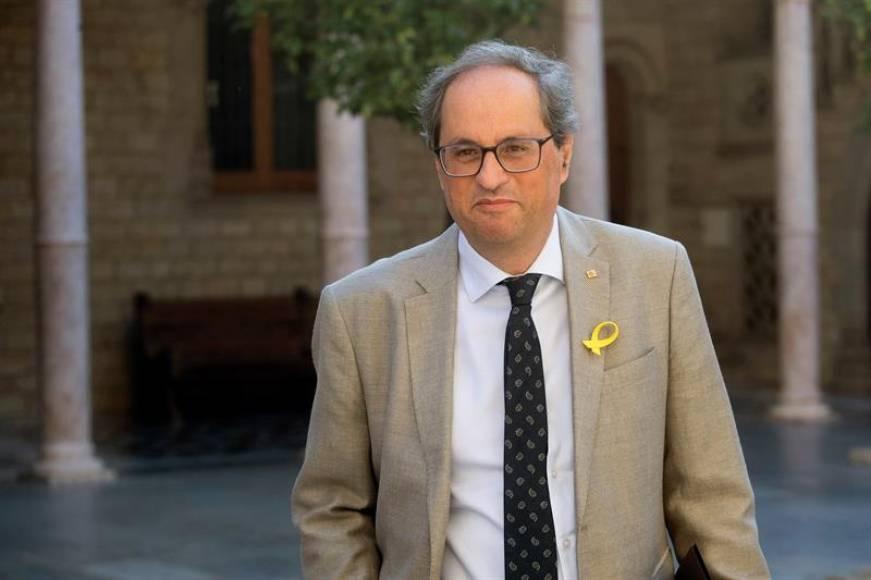 Torra no irá al homenaje de atentados de Cataluña pero homenajerá a autores de la masacre