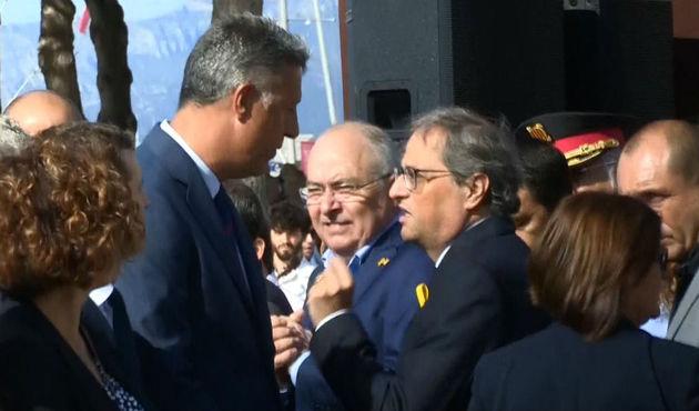 Tensión entre PP y el neonazi Torra en Cambrils (Tarragona)
