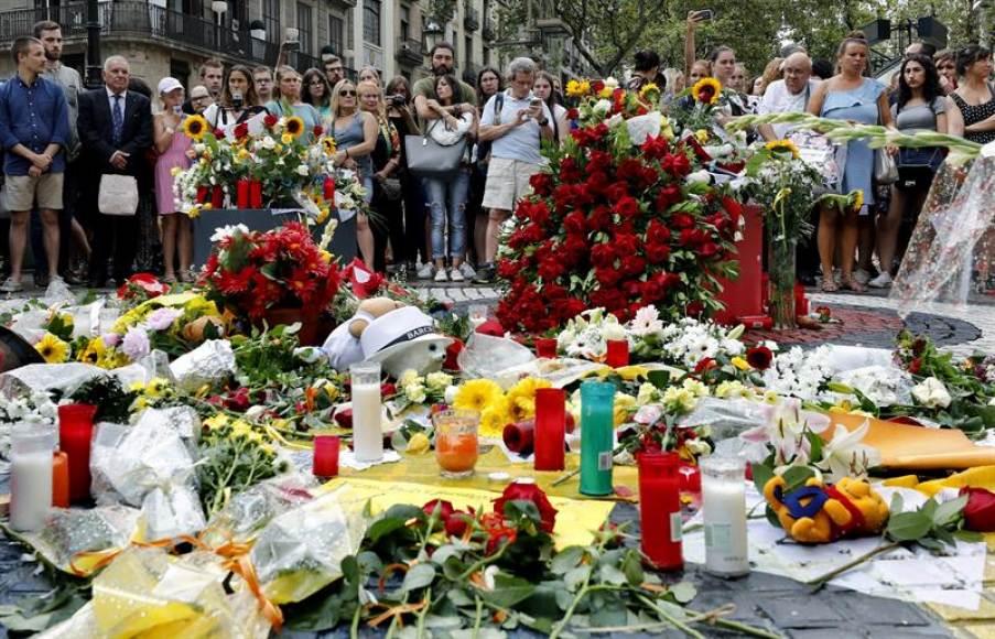 Cambrils (Tarragona) recuerda a las víctimas del 17A
