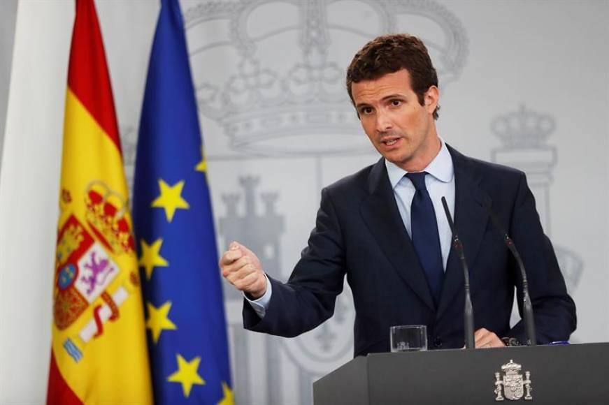 Pablo Casado no quiere dimitir
