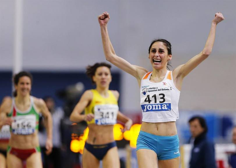 Los española Solange Pereira, oro en 1.500 metros en Trujillo (Perú)